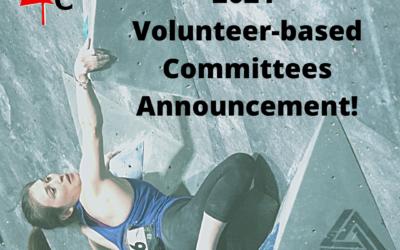 2021 Volunteer-based Committees Announcement