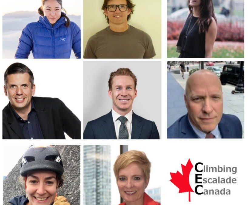 Climbing Escalade Canada celebrates milestone: introducing its first gender-balanced board!