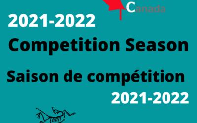 Lancement de la saison de compétition 2021-2022!