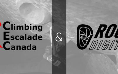 Climbing Escalade Canada and Rock Digital Marketing Announce Media Partnership For 2021-2022 Competition Climbing Season